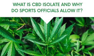 Qu'est-ce que l'isolement de la CDB et pourquoi les officiels du sport le permettent-ils?