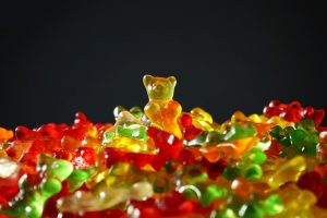 tas d'ours en gélatine
