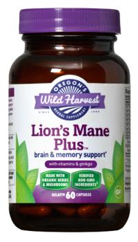 Oregon's Wild Harvest - nouvelle formule cérébrale Lion's Mane Plus