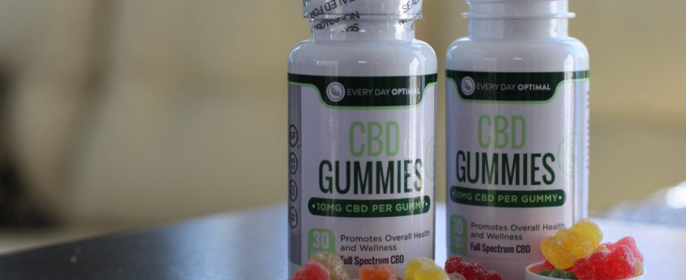 Gummies CBD | 10 mg à 25 mg de gélifiés CBD