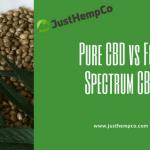 CBD pur vs CBD à spectre complet