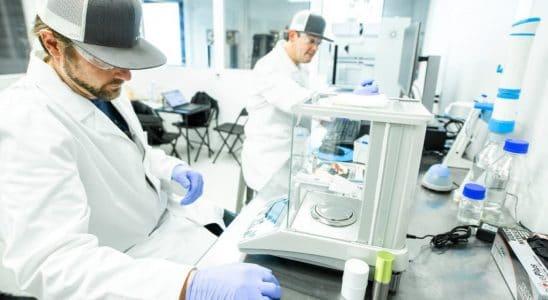 tester CBD Isolate dans un laboratoire pour garantir la qualité