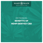 Avantages du CBD dérivé du chanvre - Mary and Main