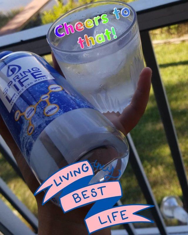 Qu'est-ce que l'eau CBD?