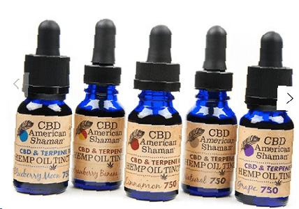 teinture d'huile de chanvre riche en terpène cbd