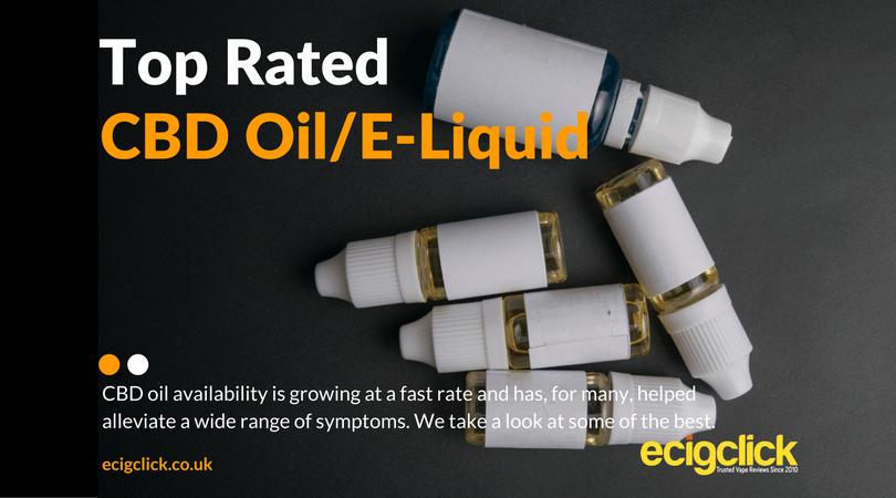 Meilleur e liquide à l'huile de CBD